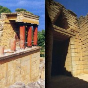 Spatial organization in Minoan and Mycenaean architecture