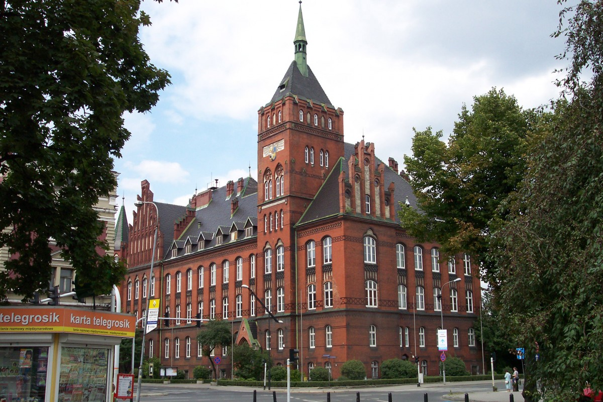 A building at the University of Silesia at Katowice, Poland. Source: Wikimedia Commons.