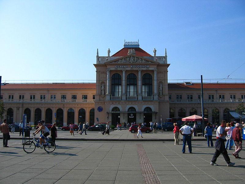 Zagreb, Main Station.