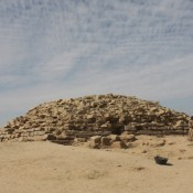 Step Pyramid Uncovered Near Edfu