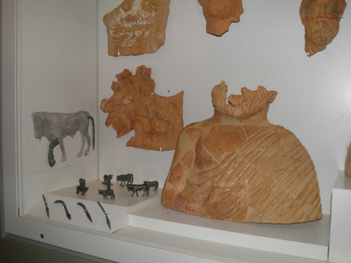 The figurines are exhibited in room A of the museum (© Archaeological Museum of Arta). .