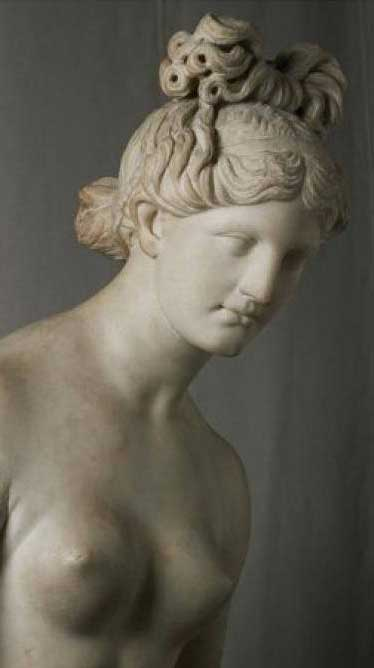 Statue of a nymph, 2nd century AD. Marble, 172 cm. Found in Aspra. Museum of Art and History in Geneva.