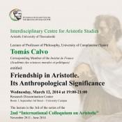 Friendship in Aristotle