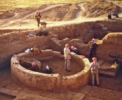The Tell Sabi Abyad site (© Universiteit Leiden).