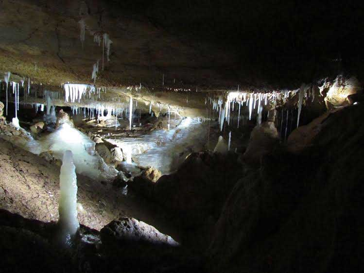 The cave formation itself, as well as the cave interior deposits, can be used for elucidating past history.
