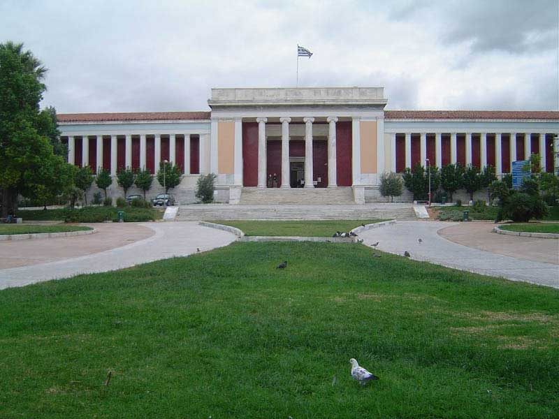 The National Archaeological Museum in Athens.