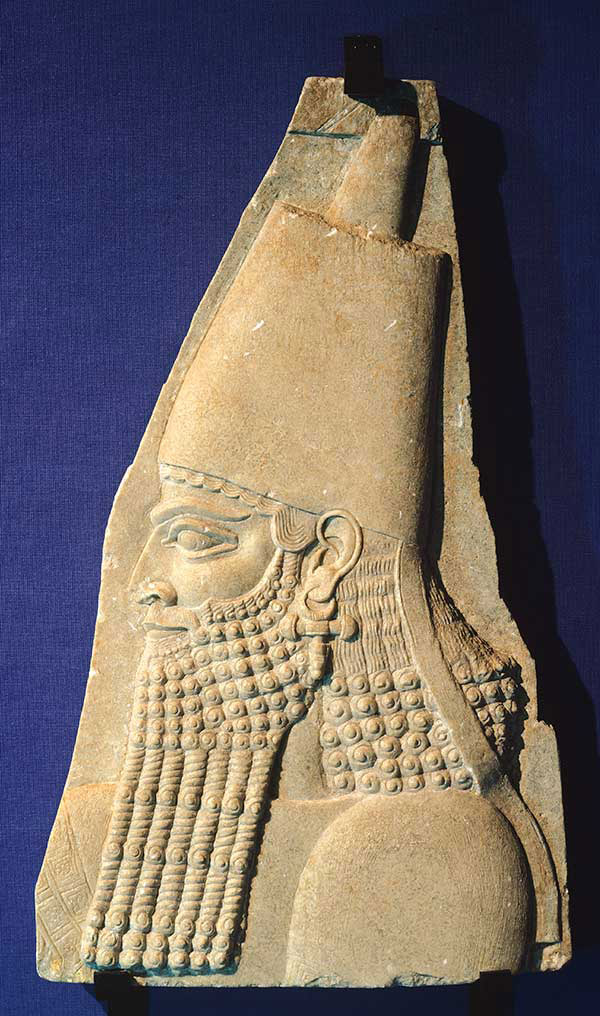 The list of 50 Biblical historical personalities includes Sargon II (722 – 705 BC).