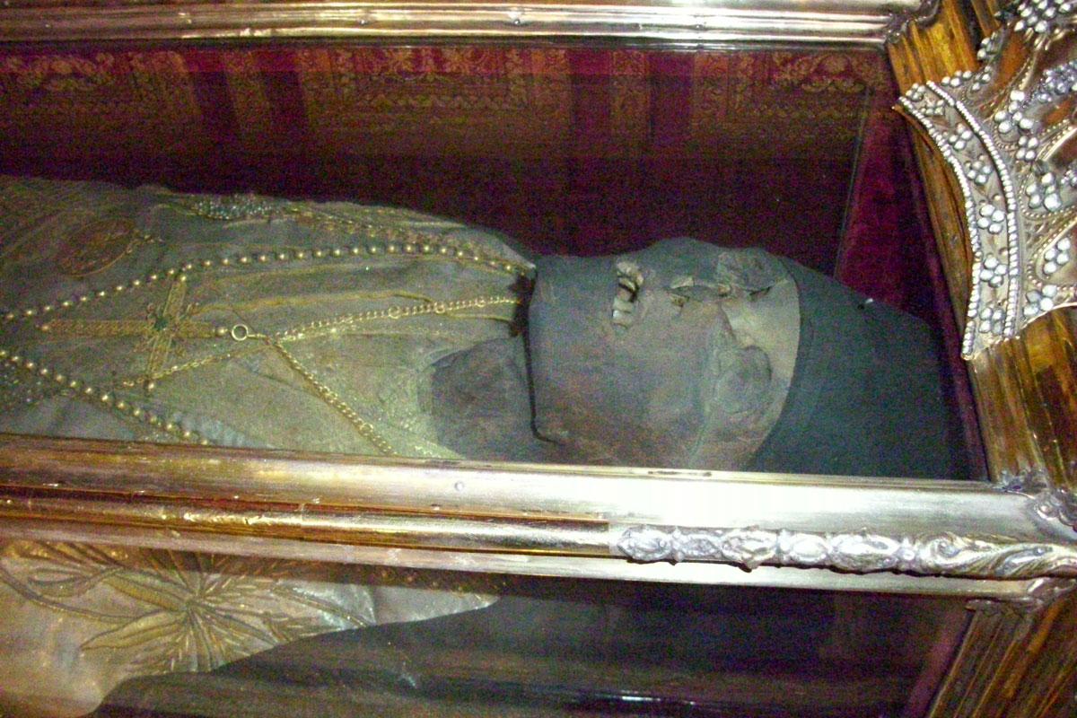 Спиридон тримифунтский где находятся мощи в греции