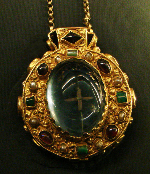 The Talisman of Charlemagne said to have been found on his body when his burial was opened.