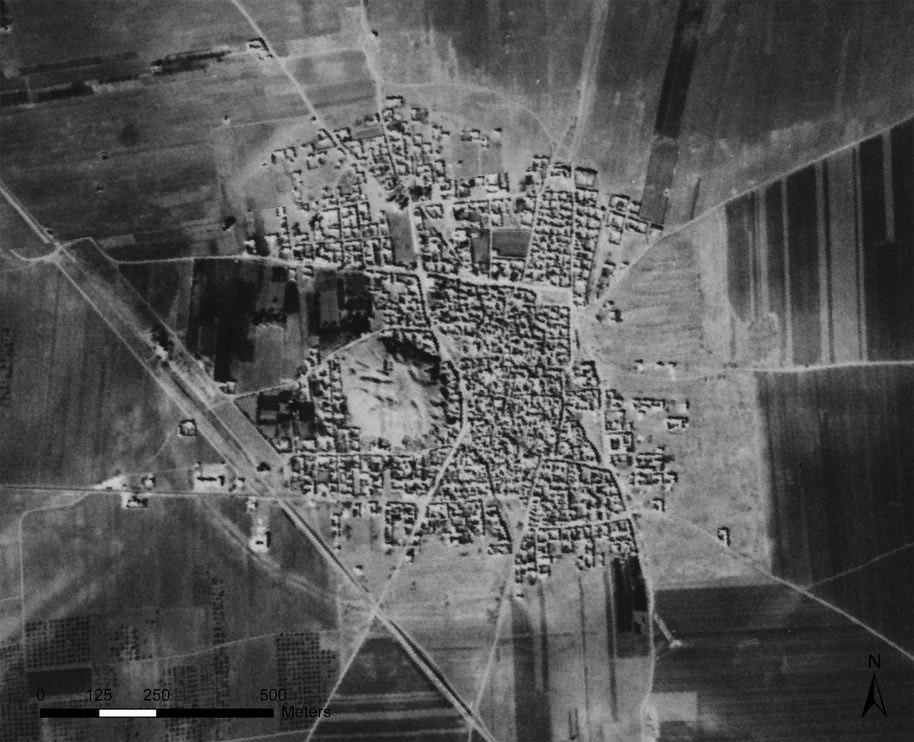 Tell Hamoukar in Syria from above. Photo: Jesse Casana, Jackson Cothren and Tuna Kalayci.