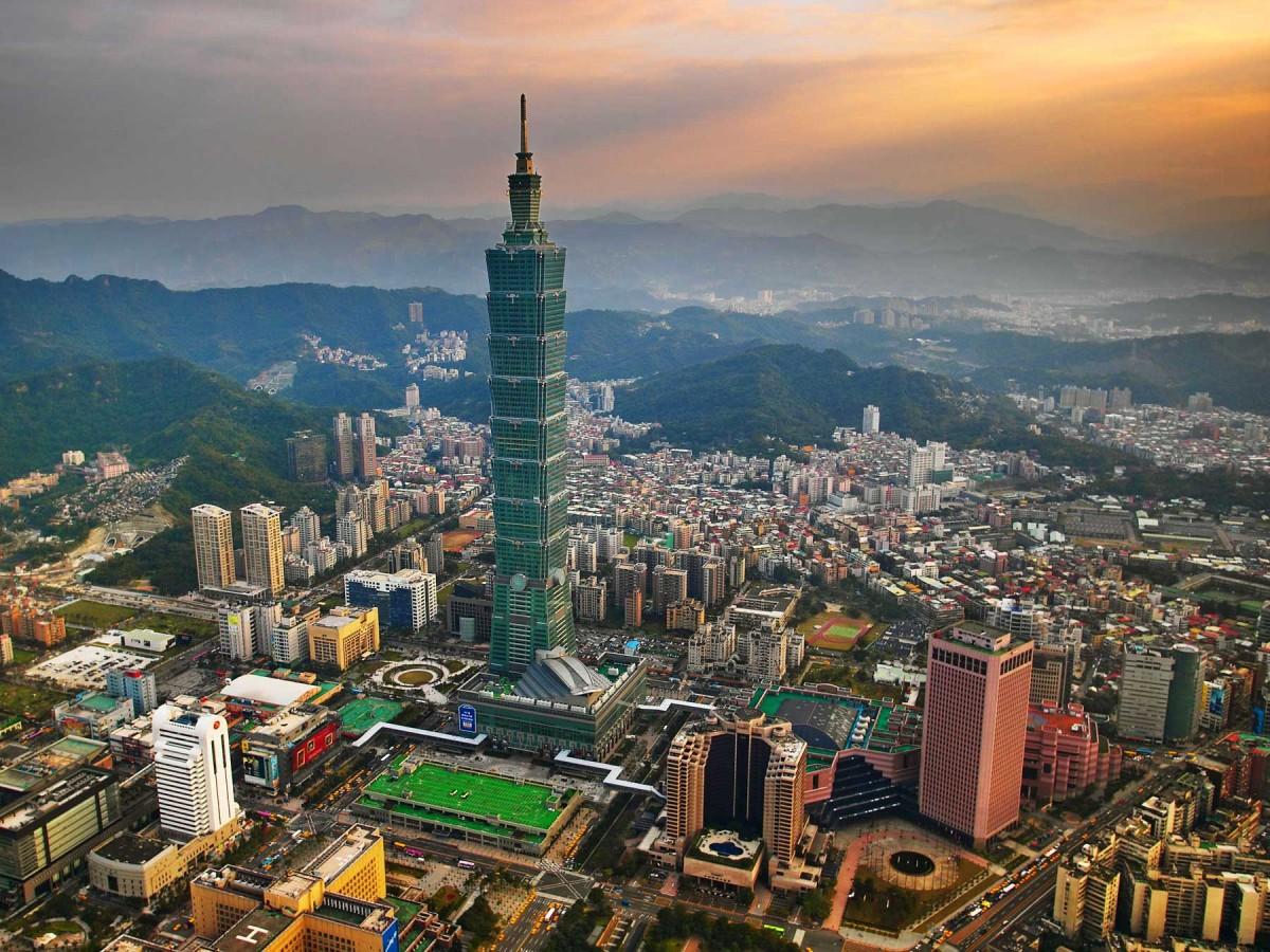 View of Taipei/Taiwan.