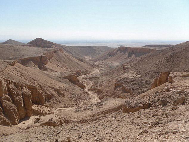 Wadi el Garb, Egypt. Photo: Daily Mail.