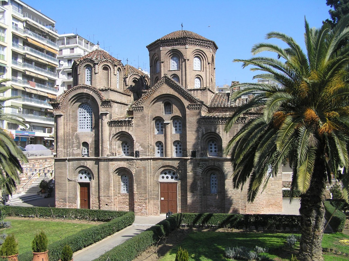 Fig. 1. The church of Panagia Chalkeon in Thessaloniki.