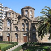 The Church of the Panaghia Chalkeon (Our Lady of the Coppersmiths) in Thessaloniki