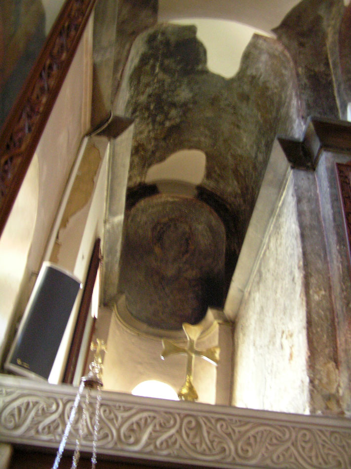 Fig. 14. The light in the apse of Holy Intent (March, at 10:10).