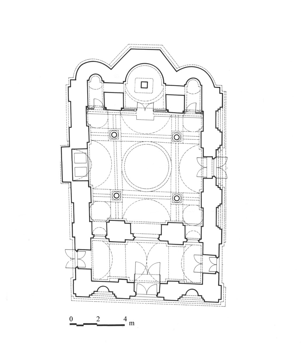 Fig. 2. Ground plan of the church.