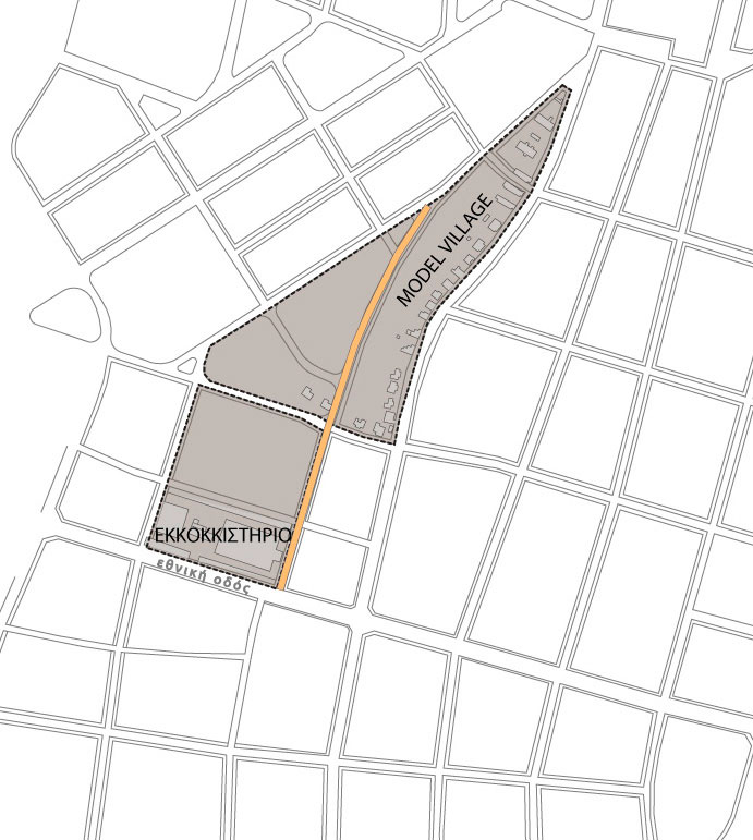 Fig. 10. Proposed interventions in Cotton Mill area (personal archive).