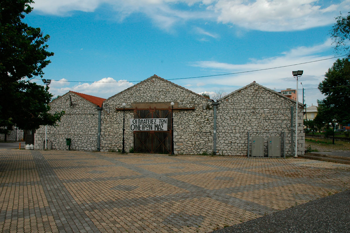 Fig. 4. The central building of the Group of Granaries (personal archive).
