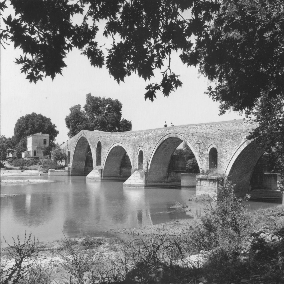 Fig. 1. Robert A. McCabe, The bridge of Arta (1961).