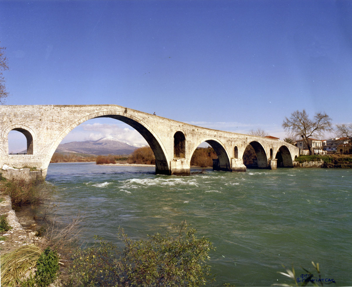Fig. 6. The bridge of Arta (2010).