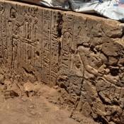 Ptolemaic temple found in Gebel El-Nour