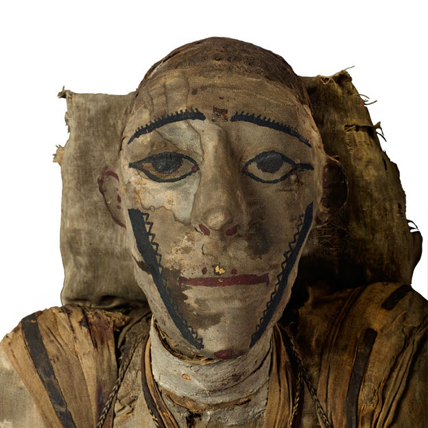 Fig. 6. An unusual mummy from the Roman Period. (© British Museum)