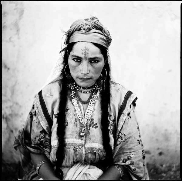 Portrait of an Algerian woman, Marc Garanger. Algeria 1965.