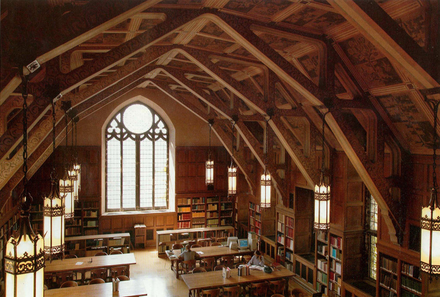 Chicago Oriental Institute's Elizabeth Morse Genius Reading Room.