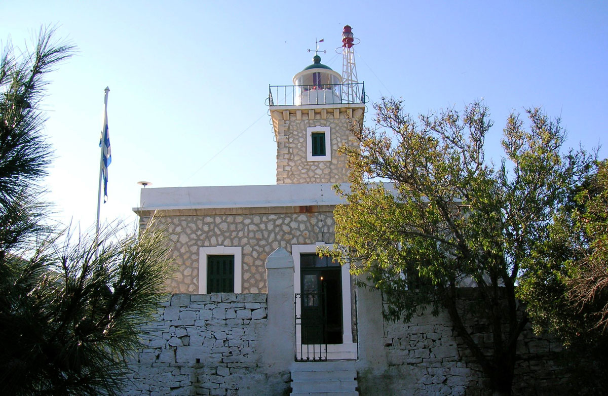 Fig. 3. Antipaxoi. It first operated in 1906. During the Second World War, the lighthouse remained unlit. Since 1985 it is powered by electricity and operates on a monitoring basis. It is in a mediocre state today.