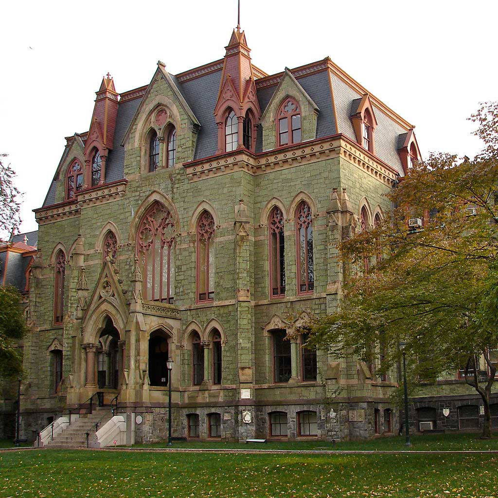 College Hall, University of Pennsylvania.