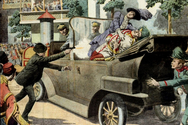 What if Franz Ferdinand's driver had not taken a wrong turn, bringing the Duke face to face with his assassin?