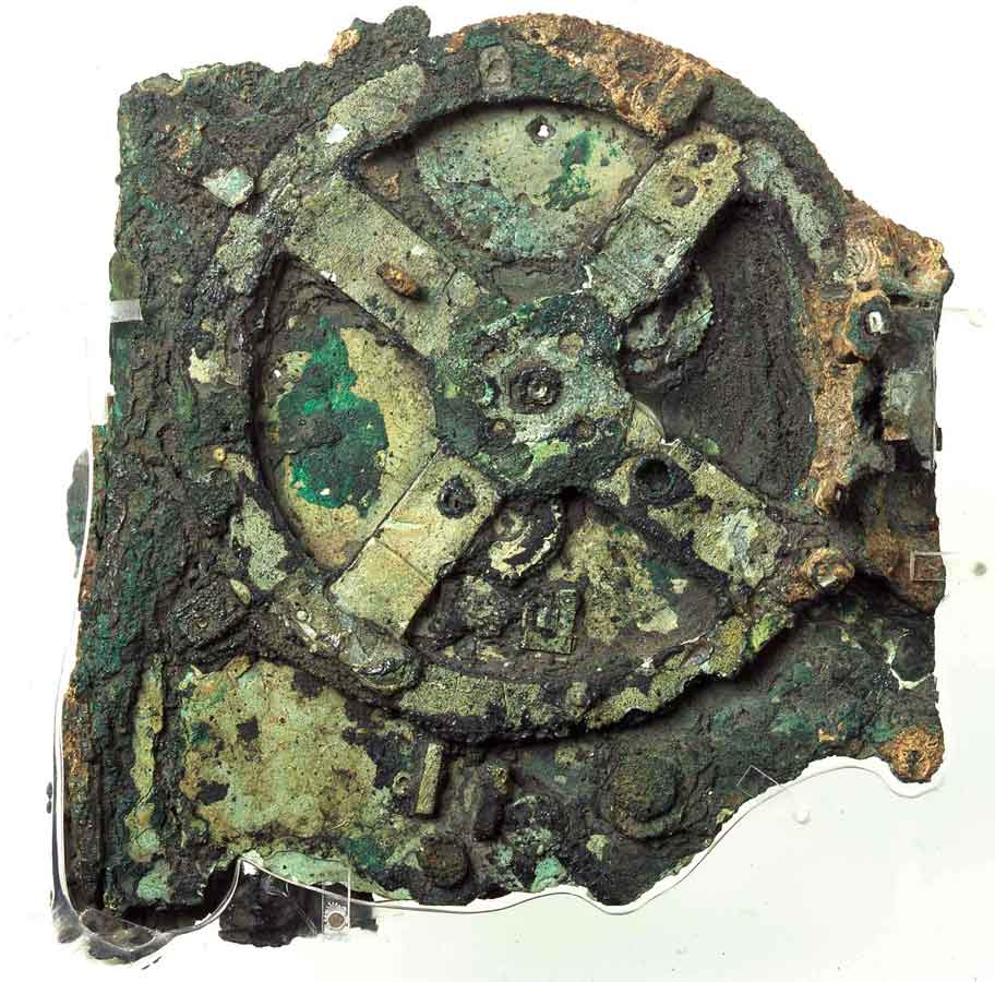 The Antikythera Mechanism. National Archaeological Museum.