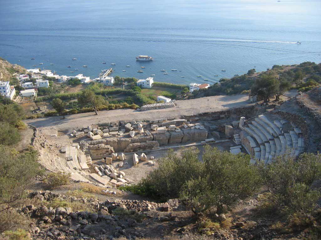 Roman theatre, Milos.