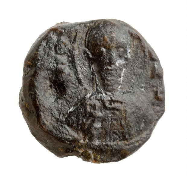 Picture of the seal. Photographic credit: Clara Amit, courtesy of the Israel Antiquities Authority