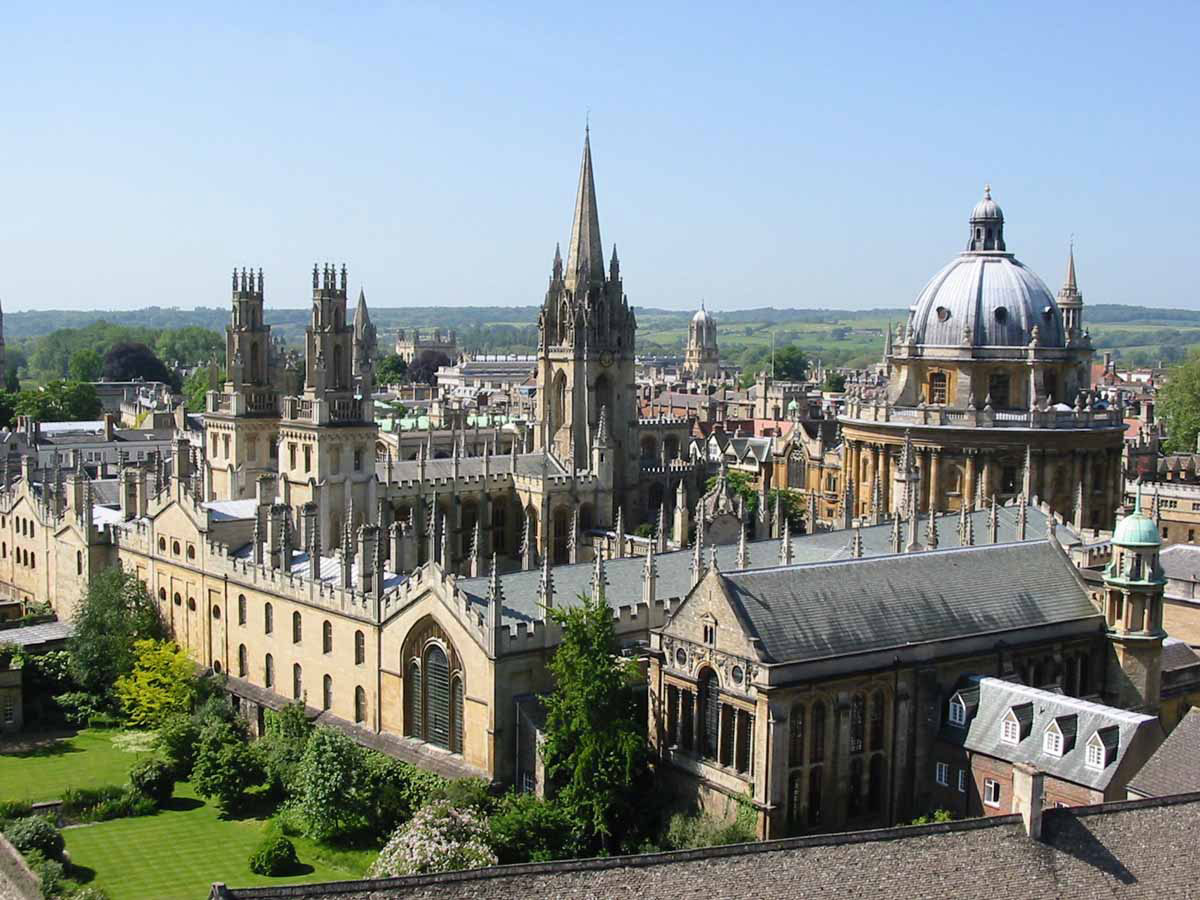 The University of Oxford.