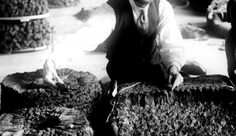 Tobacco reflects an important segment of Greek history. © Benaki Museum
