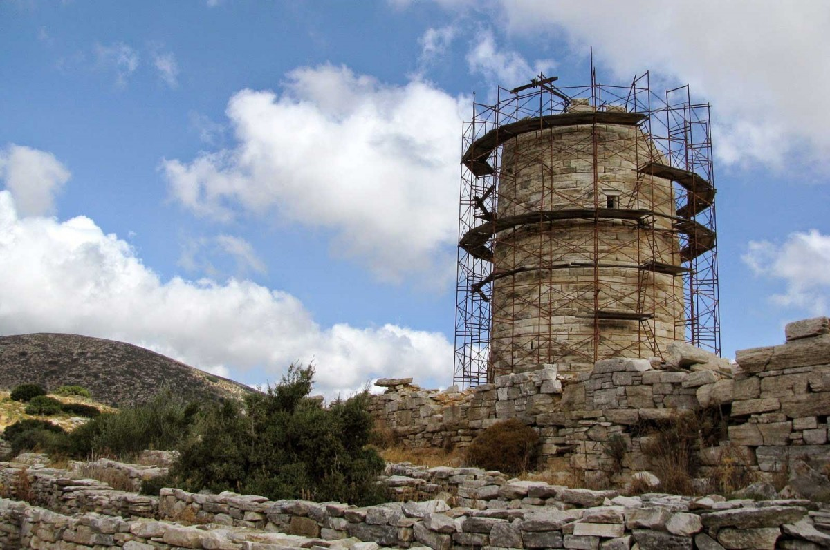 The Cheimarros Tower on Naxos (Credit: GTP).