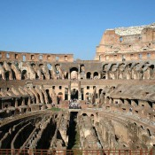 The Colosseum was a huge condominium in the Middle Ages