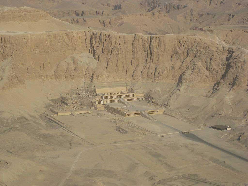 Djeser-Djeseru is the main building of Hatshepsut's mortuary temple complex at Deir el-Bahri.