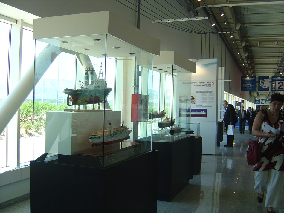 "Fig. 26. Exhibition: ""10 000 years of Hellenic Sea Tradition."" Metropolitan Expo (Posidonia 2012), 4-8 June 2012."