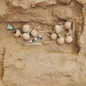 Moche culture artefacts unearthed at Huaca de la Luna