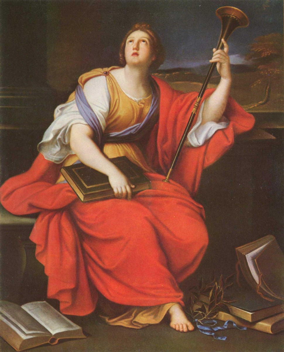 Clio, the Muse of History by Pierre Mignard. Source: Wikimedia Commons.