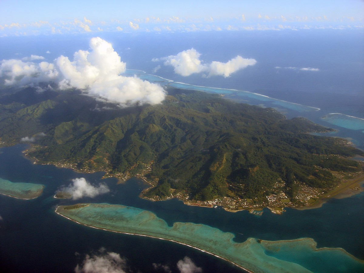 Tonga, French Polynesia.