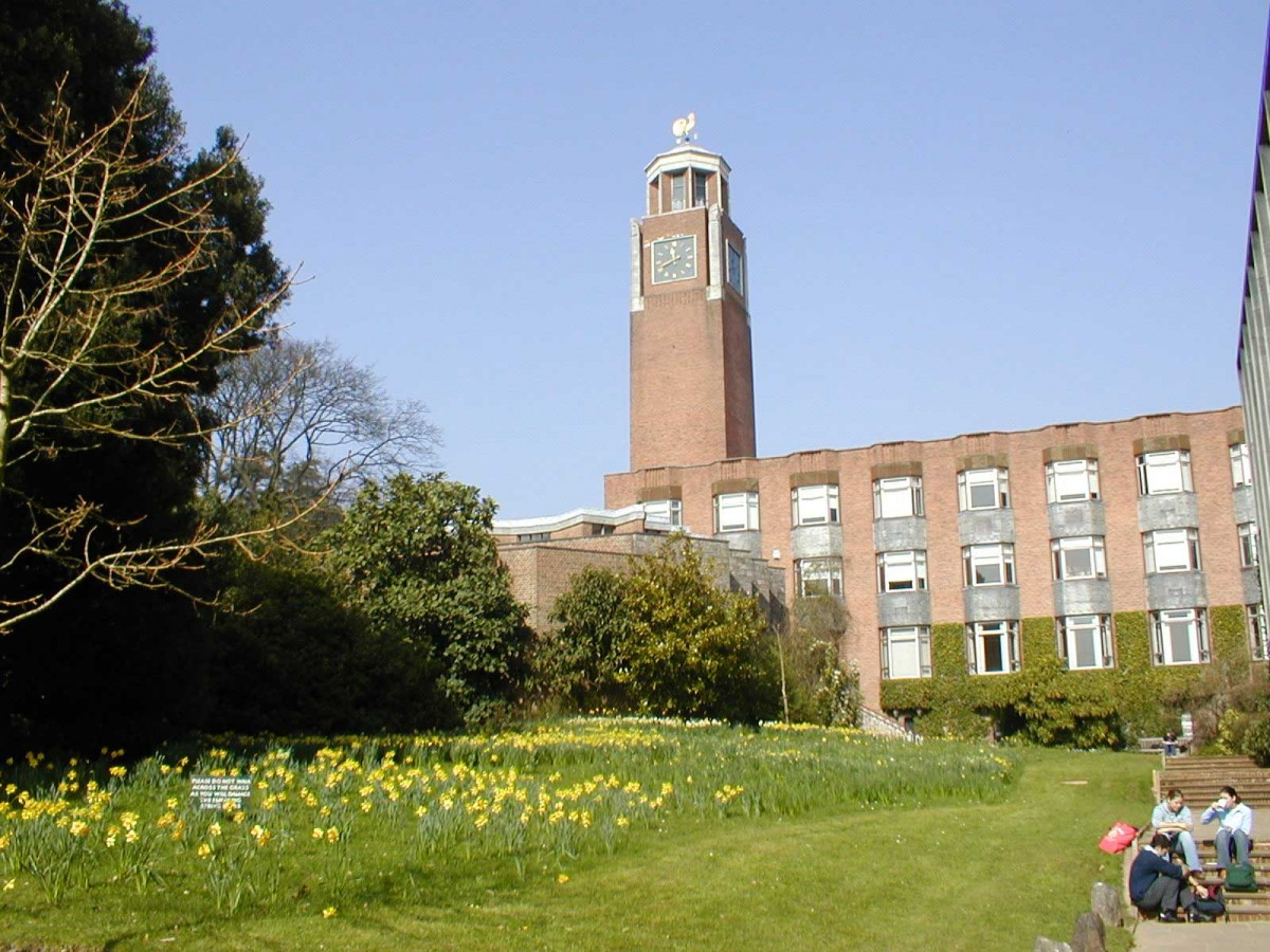 University of Exeter. Clock tower.