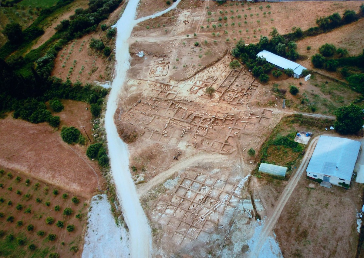 Fig. 5. The general view of the excavation in the Calydona district.