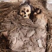 Pre-Hispanic mortuary bundle found in Hidalgo