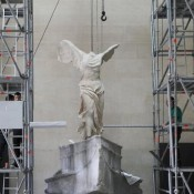 Winged Victory of Samothrace is back at the Louvre