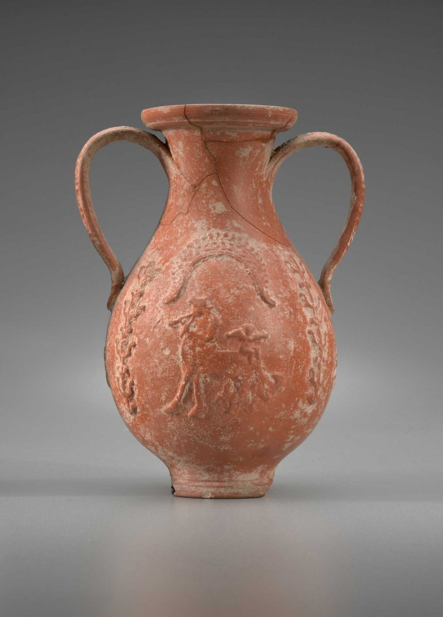 African Red Slip Pelike, Tunisia, late 2nd–3rd century A.D. Terracotta. Yale University Art Gallery, Gift of Rebecca Darlington Stoddard.