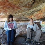 Researchers uncover chemistry behind ancient rock art