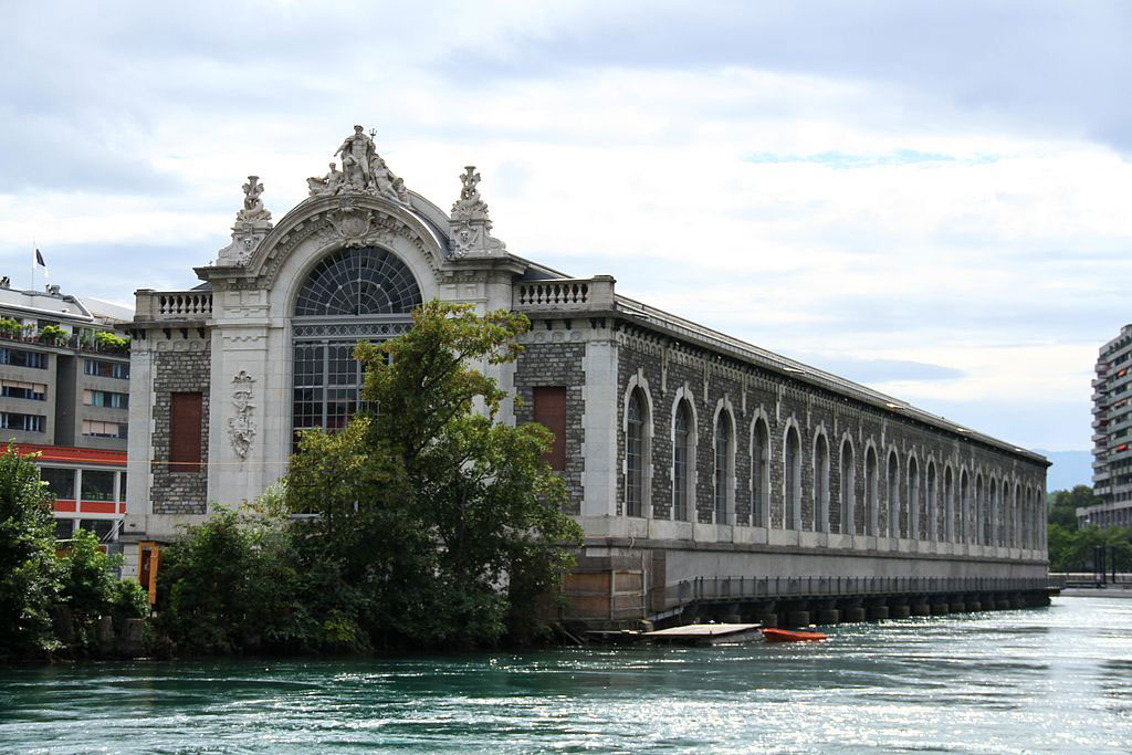 Geneva, Le Bâtiment des Forces Motrices.